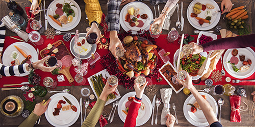 Eat Healthy for the Holidays: Foods that Help Your Baby Grow